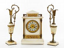 Antique French Clock Set