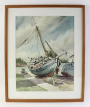 Phil Brinkman, Haitian in Nassau, Watercolor