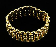 18K Gold 750 Marked Bracelet