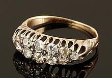 12K English Ladies' Diamond Ring