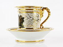 Barr Flight and Barr Cup and Saucer