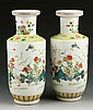 Chinese Famille Rose Vases
