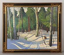 Parrott, Snowy Forest, O/B
