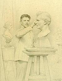 JEAN-ALEXANDRE CORABOEUF (1870-1947). F.