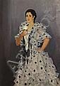 ALFONSO GROSSO (1893- 1983). Portrait de jeune, Alfonso Grosso Sánchez, Click for value