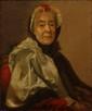 Ecole FRANCAISE du XVIIIème siècle, suiveur d'Alexandre ROSLIN Portrait de la marquise de Puiseux Toile Dimension : 64 x 53,5 cm Restaurations anciennes