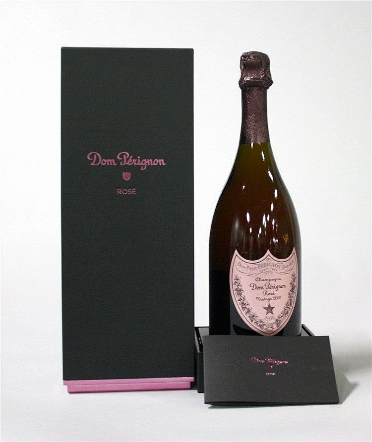 1 bouteille champagne dom p rignon ros 2000. Black Bedroom Furniture Sets. Home Design Ideas