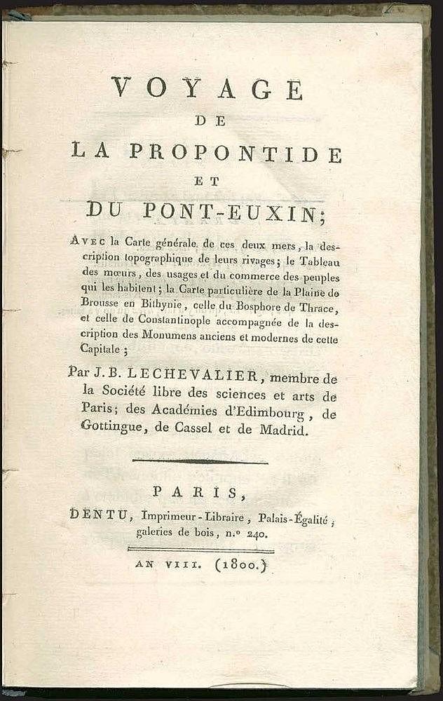 LECHEVALIER, Jean-Baptiste,