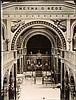 Μητροπολιτικός Ναός Αθηνών - Metropolitan Cathedral of Athens, c.1890. Δύο (2) αλπουμίνες διαστ. 17,5χ23,5εκ που αποτυπώνουν όψεις του εσωτερικού του ναού.