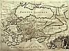 "HALMA F. (cartographer), Charles Vialart, Lukas Holste. ""Geographia sacra sive notitia antique…"", Amstelaedami: Apud Rud. & Gerh. Wetstenios, 1711. Folio (45,5x30cm), pp.[10], 332, 72. COMPLETE Atlas of Geography Sacra, with 11 copper engraved"