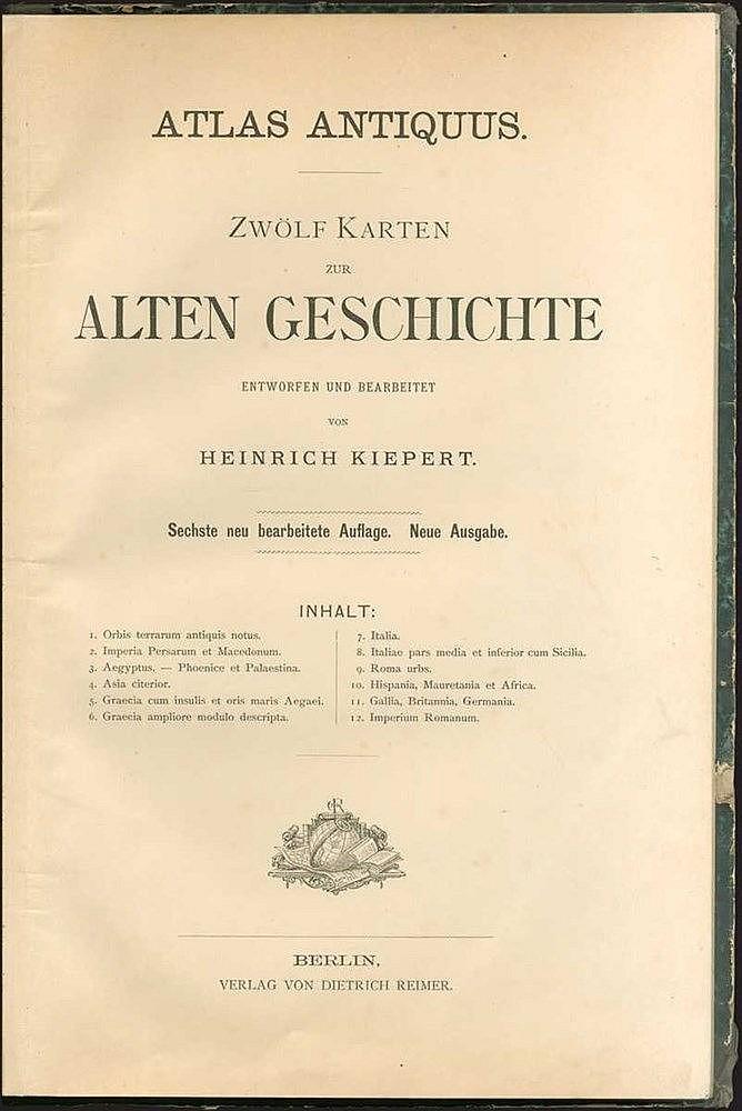 KIEPERT Heinrich,