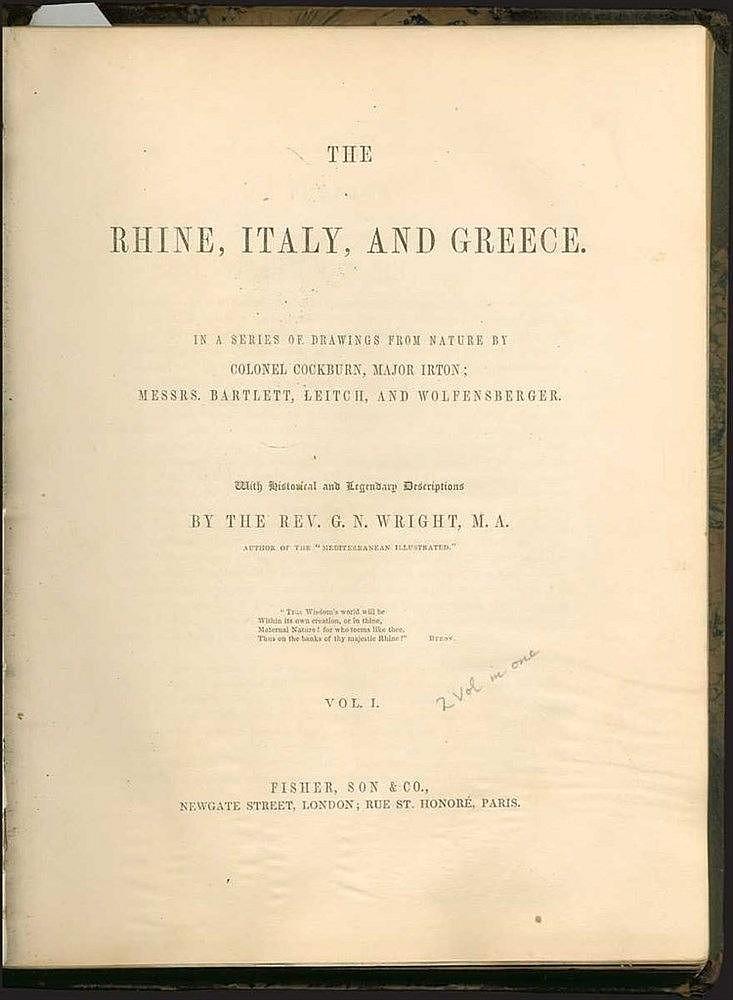 Wright George Newenham,