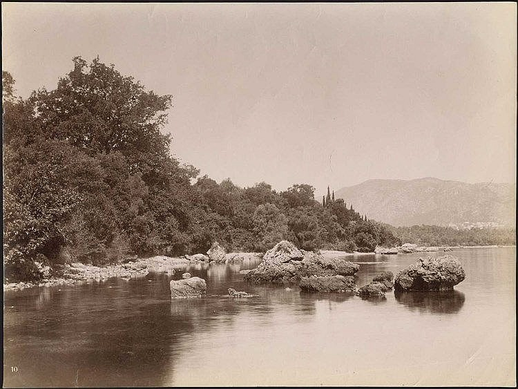 ΚΕΡΚΥΡΑ - CORFU. Albumen photo dim.27.5x21cm. Numbered