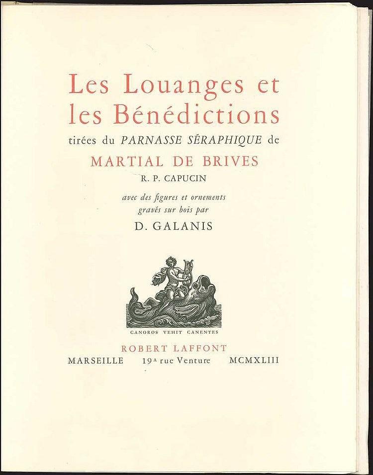 Galanis D. / MARTIAL de BRIVES,