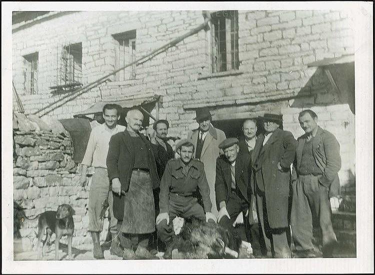 Κόνιτσα 1947. Φωτογραφία διαστ.24χ18εκ.