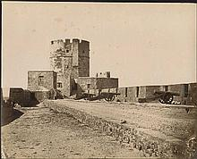 Rhodes (Ρόδος) c.1870. Four (4) albumen photographs issued by Rubellin with photographer cachet