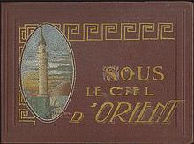 "The Macedonian Front, World War I - Aviation. Photographic album of a French aviator took part at the military operations at Macedonian Front, entitled ""Sous Le Ciel D'Orient""."