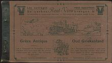 Grece Antique / Oud Griekenland, scarce set of 8 stereoscopic images by