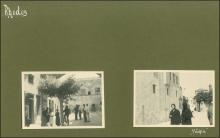 Photographic Album through Italy, Greece & Turkey of total 73 photographs of various dim. (from 3.5x5cm to 7x9cm) from a journey starting from Venice, to Athens (7), Turkey - Constantinople - Asia...