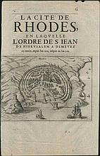 I. BAUDOIN, RHODES, 1629-1659, 13 engravings