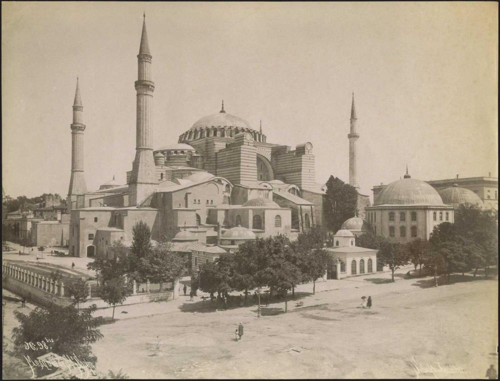 Κωνσταντινούπολη/ Constantinople/ Istanbul 1880- 1890. Three (3) albumen photographs by Sebah & Joaillier... - Greece - TURKEY - CONSTANTINOPLE