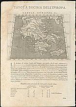 PTOLEMAEUS, C., Magini i & the Galignani brothers, Venice 1598,