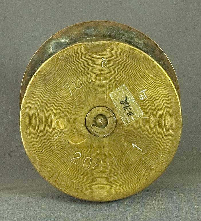 WWI Military Trench Art: a Remington made French brass & copper box