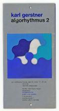 Einladungskarten der Galerie Denise René Hans Mayer