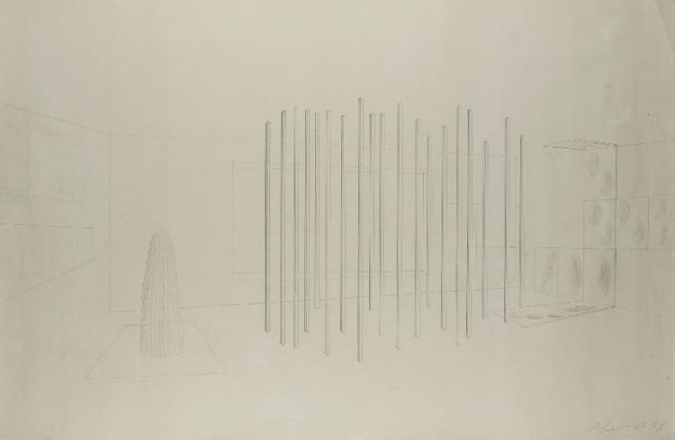 Entwurf zu einer Installation 1966