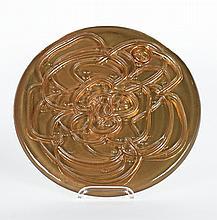 Jahresteller in Glas (Gold)