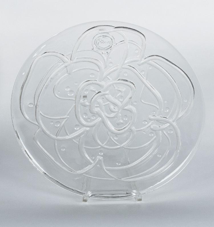 Jahresteller in Glas