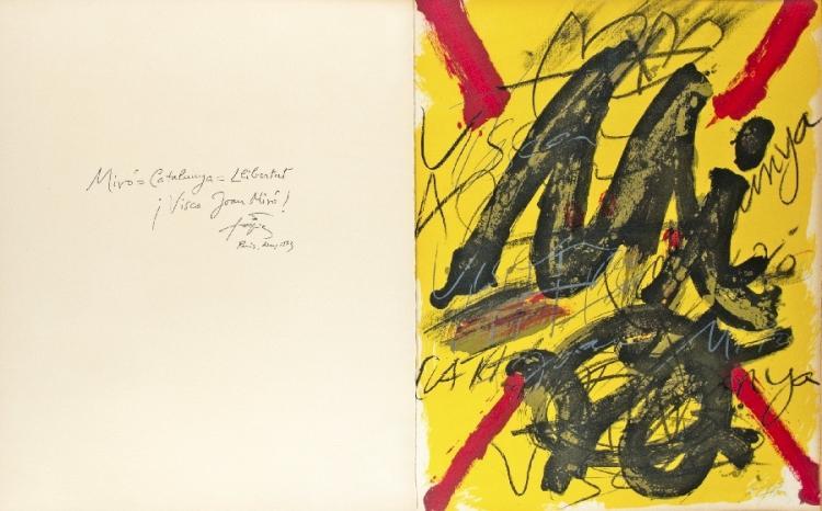 Hommage à Joan Miro/L'émerveille merveilleux