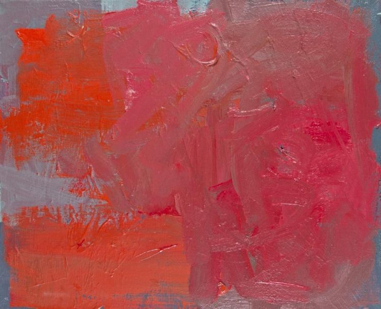 Rot über Grau