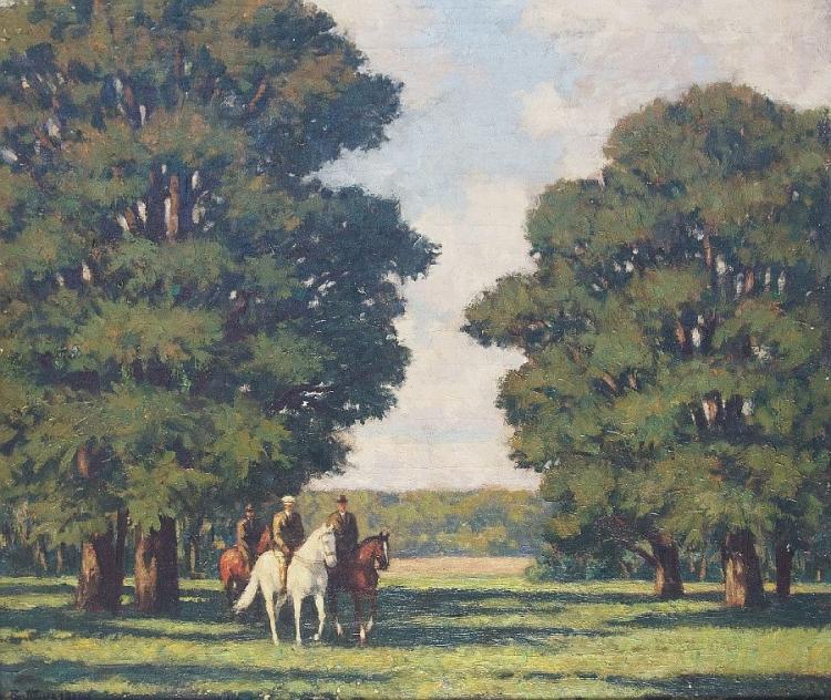 Reiter im Englischen Garten