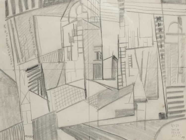 Konstruktivistische Architekturstudie