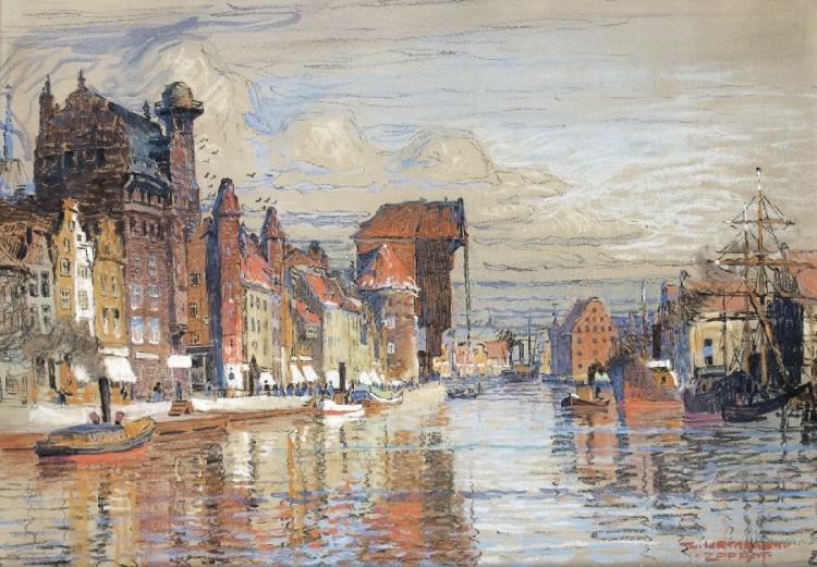Im Hafen von Danzig