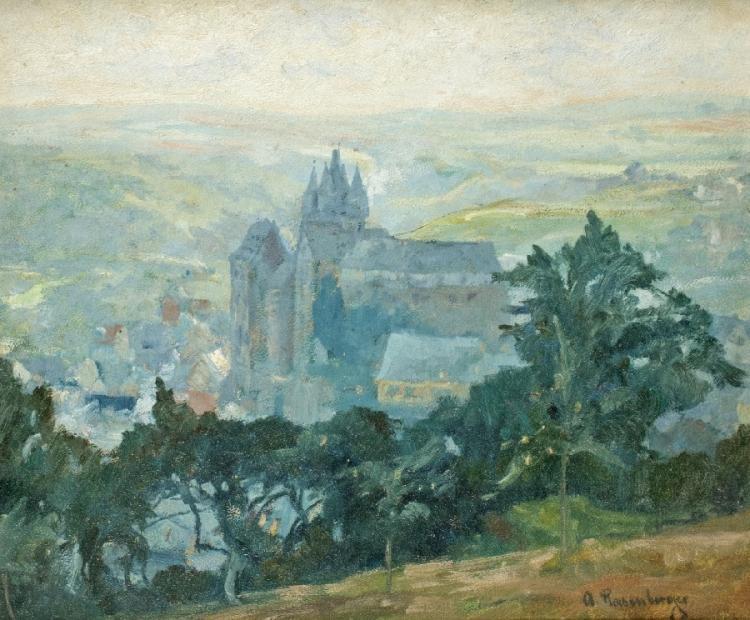 Das Grafenschloss in Diez an der Lahn
