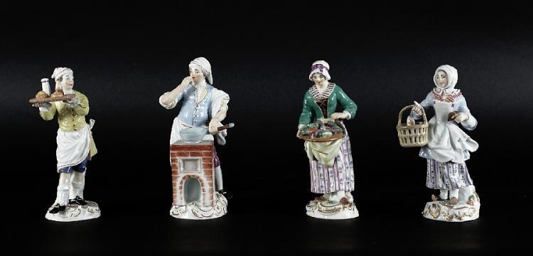Vier Pariser Ausrufer