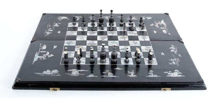 Schachspiel/Backgammonspiel