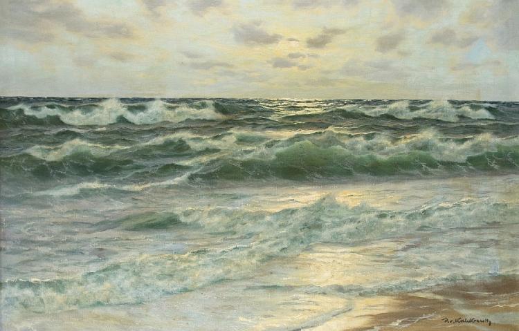 Abend an der Küste