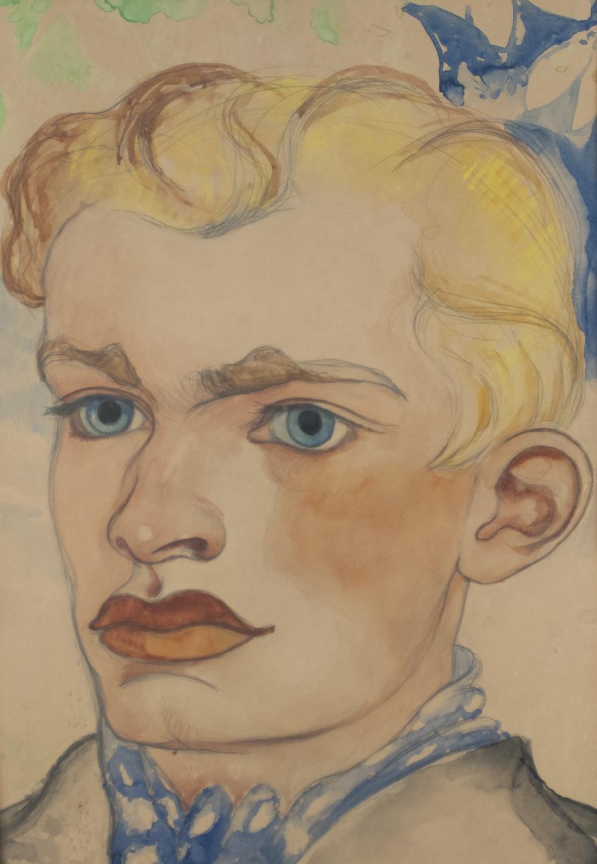 Burchartz, Max: Portrait eines Jungen