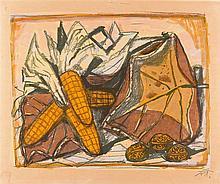 Otto Dix – Stillleben mit Mais