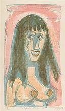 "Otto Dix – ""Lachendes Mädchen"""