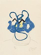 Georges Braque – Vase bleu aus: Si je mourais là-bas