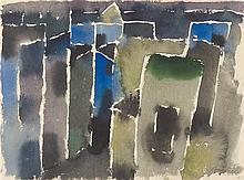 "Eduard Bargheer – ""Dunkle Häuser"""