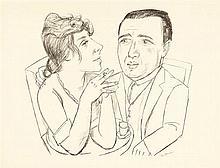 Max Beckmann – Doppelbildnis I.B. Neumann und Martha Stern