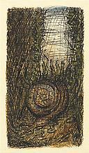 Alfred Kubin – Kopffüßler (Nautilus) auf Meeresgrund