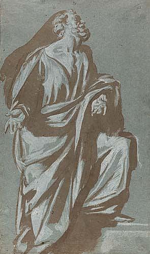 ORAZIO FARINATI (Umkreis)  Apostel.