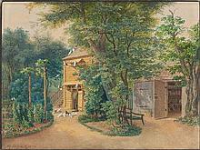 MICHAEL LUEGER 2 Bll.: Ansichten aus dem Schlosspark Nymphenburg.
