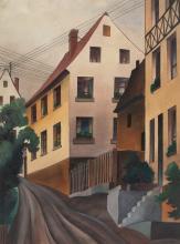 Christian Arnold – Häuser an der Straße (Houses on the street)